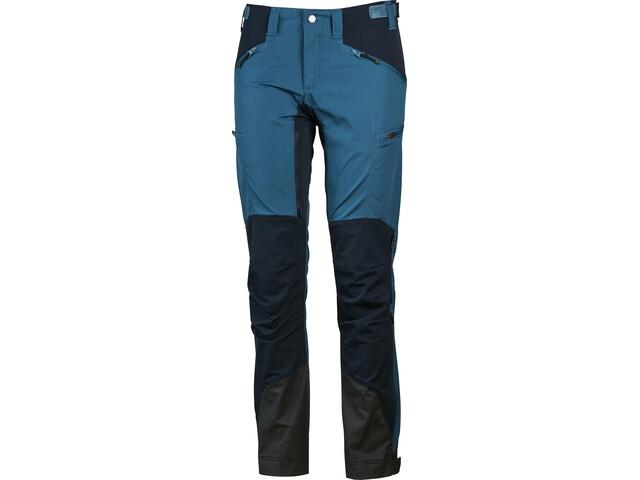 Lundhags Makke Pantalones Mujer, petrol/deep blue